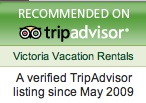 Victoria Vacation Rental Trip Advisor Verified Listing